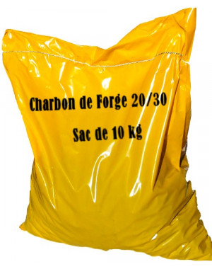 Charbon de forge Calibre 20/30mm Sac 10 kg
