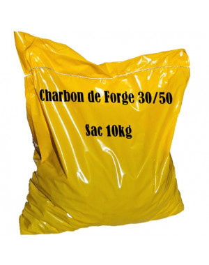 Charbon de forge Calibre 30/50mm Sac 10 kg