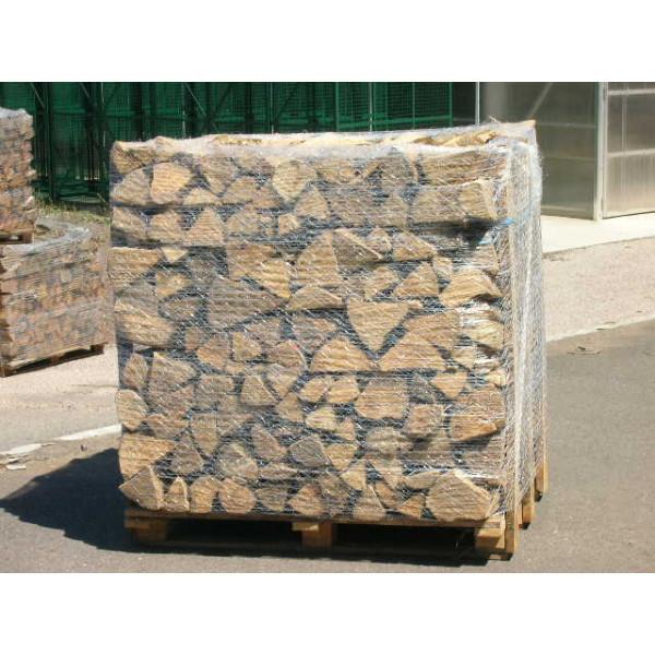 bûches de bois de chauffage 50cm, palette de 1,5 stère