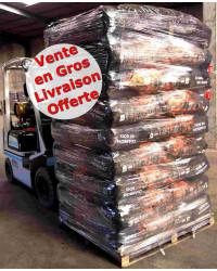Lot Charbon de Bois Restauration 54 sacs de 50L