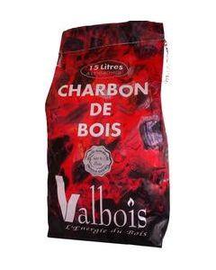 Charbon de Bois VALBOIS sac de 15 Litres