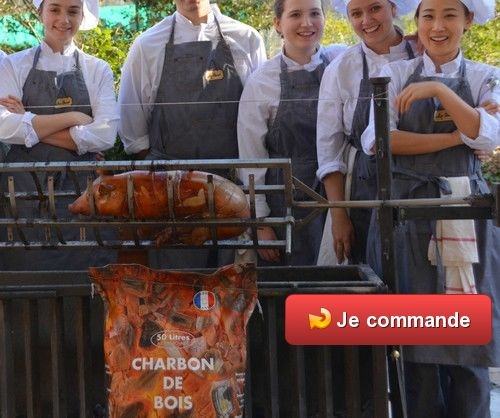 Barbecue party des Chefs
