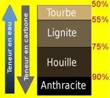 Lignite taux de carbone