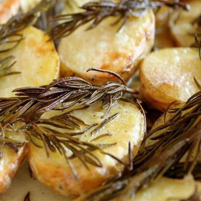 Pommes de terre fumé au barbecue