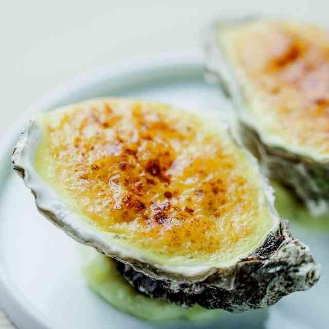 Huîtres gratinées BBQ